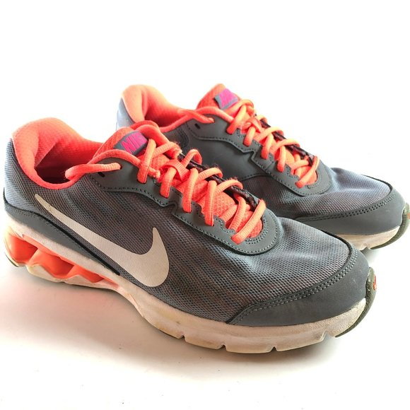 NIKE REAX RUN 9 653612-002 Running Shoes Gray 10.5